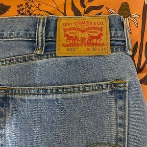 Levi's Jeans 38x34 model 505